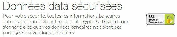Données sécurisées et cryptées pour une fiabilité de vos transactions