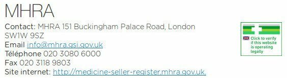Treated est régulée auprès de la MHRA : une institution britannique