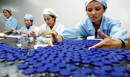 Narkotikaproduktionsanlæg i Kina: forfalskede produkter